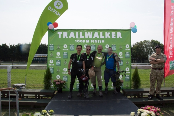 finish line image #trailwalker 2014