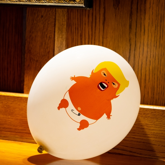 A picture is worth 1000 words - donald trump balloon